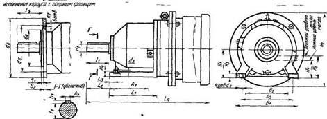 Мотор-редукторы планетарные зубчатые одноступенчатые типа 1МПз