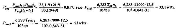 Расчет глобоидных передач на прочность и нагрев