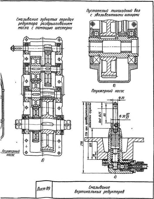 Редукторы цилиндрические вертикальные трехступенчатые типа ВКУ-М